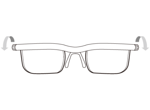 眼鏡の画像