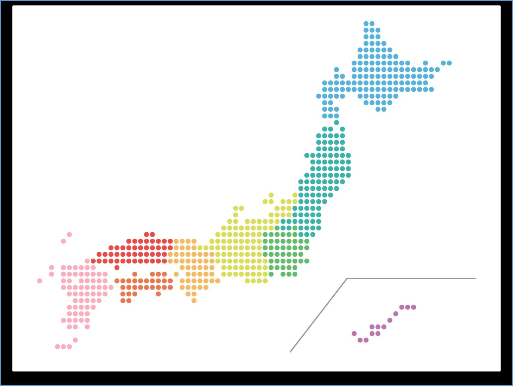都道府県から探す地図